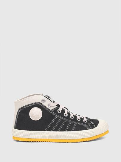 Diesel - S-YUK MC, Schwarz/Gelb - Sneakers - Image 1