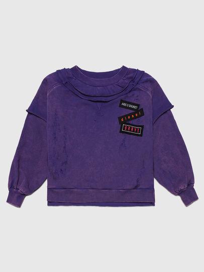 Diesel - STRATY, Violett - Sweatshirts - Image 1