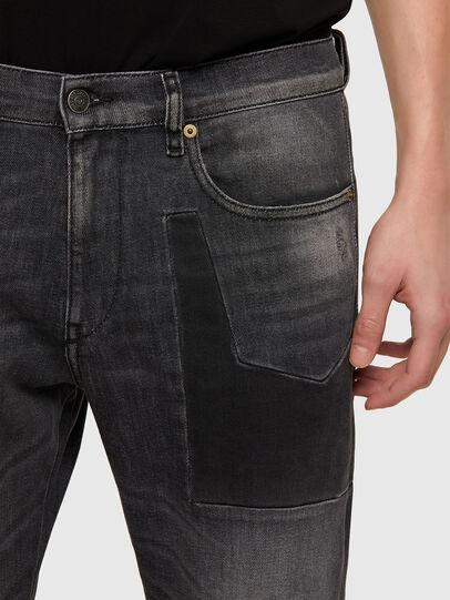 Diesel - D-Strukt 009MZ, Schwarz/Dunkelgrau - Jeans - Image 4