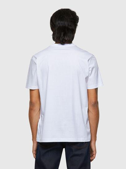 Diesel - T-JUST-B63, Weiß - T-Shirts - Image 2