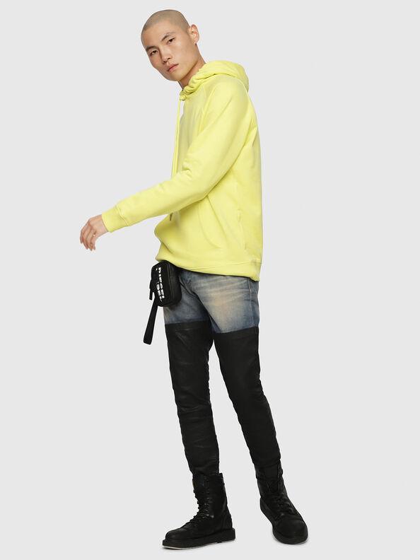 S-GIM-HOOD-A, Hellgelb - Sweatshirts