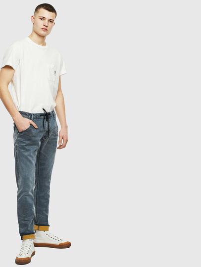Diesel - Krooley JoggJeans 069LT, Dunkelblau - Jeans - Image 7
