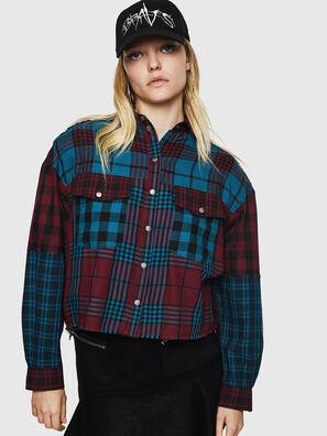 C-OKSANA, Rot/Blau - Hemden
