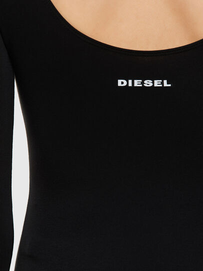 Diesel - UFBY-BODY-LS, Schwarz - Bodys - Image 3