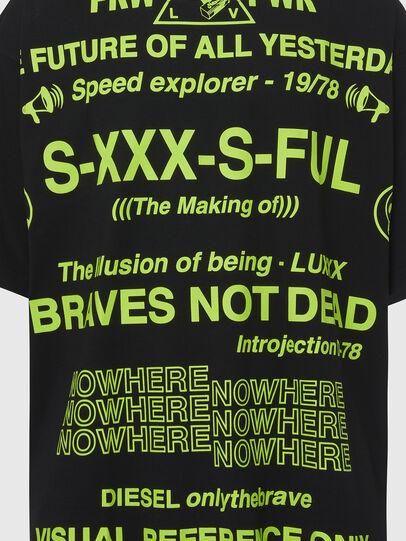 Diesel - T-BALL-X2, Schwarz - T-Shirts - Image 3