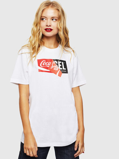 Diesel - CC-T-JUST-COLA,  - T-Shirts - Image 2