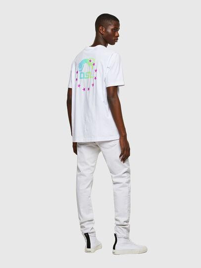 Diesel - T-JUST-E8, Weiß - T-Shirts - Image 4