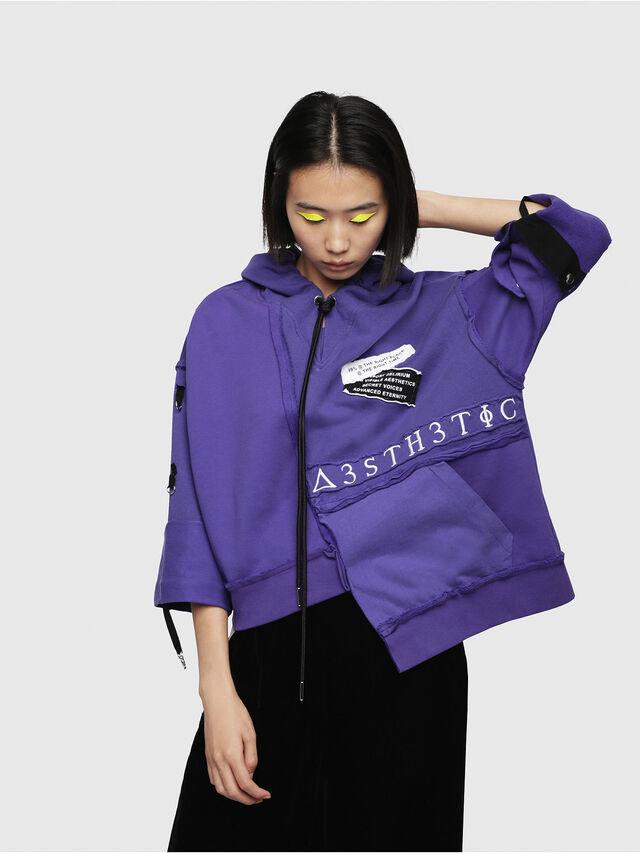 Diesel - F-MIKI, Violett - Sweatshirts - Image 1