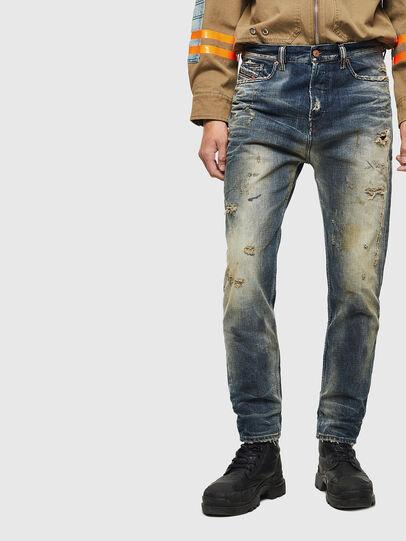 Diesel - D-Vider 0098S, Mittelblau - Jeans - Image 1