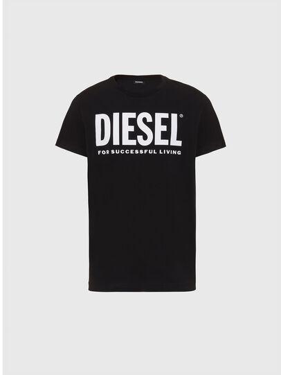 Diesel - T-DIEGO-LOGO, Schwarz - T-Shirts - Image 1
