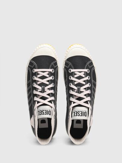 Diesel - S-YUK MC, Schwarz/Gelb - Sneakers - Image 5