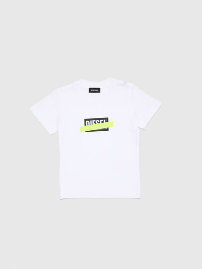 Diesel - TJUSTDIXB-R, Weiß - T-Shirts und Tops - Image 1