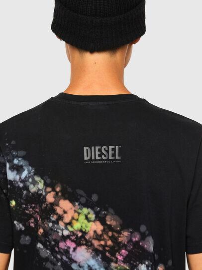 Diesel - T-JUST-A40, Schwarz - T-Shirts - Image 4