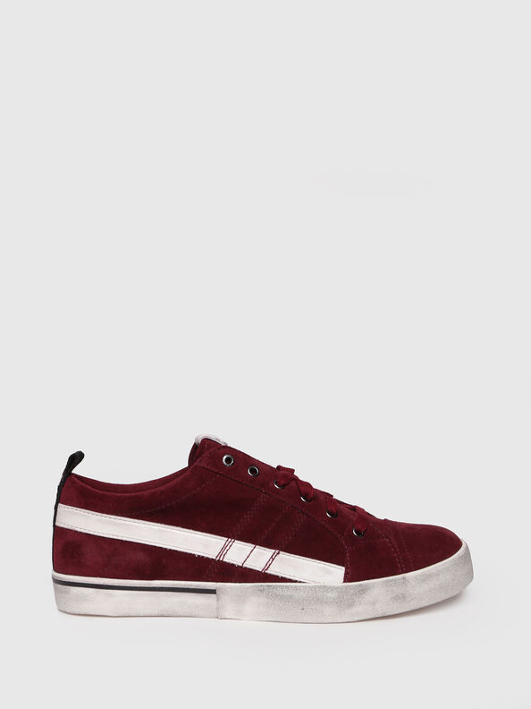 D-VELOWS LOW LACE, Rot - Sneakers