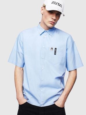 S-FRY-FLUO, Hellblau - Hemden