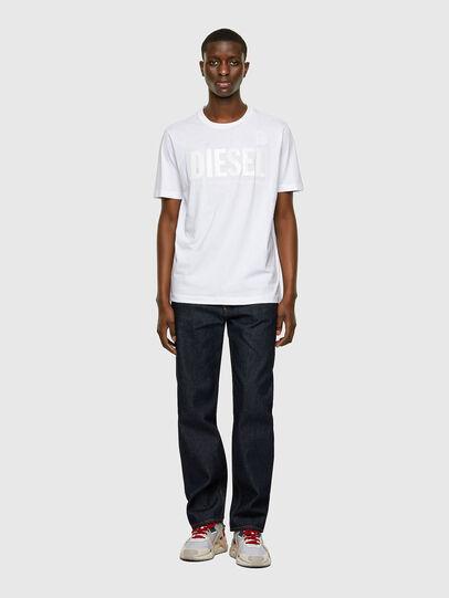Diesel - T-JUST-INLOGO, Weiß - T-Shirts - Image 4