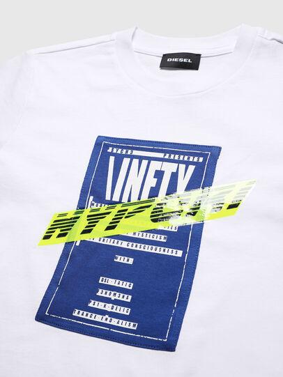 Diesel - TJUSTY7, Weiß - T-Shirts und Tops - Image 3