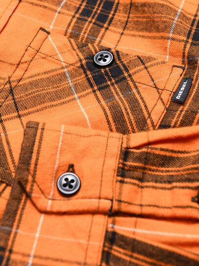 Diesel - COIZE, Orange/Schwarz - Hemden - Image 3