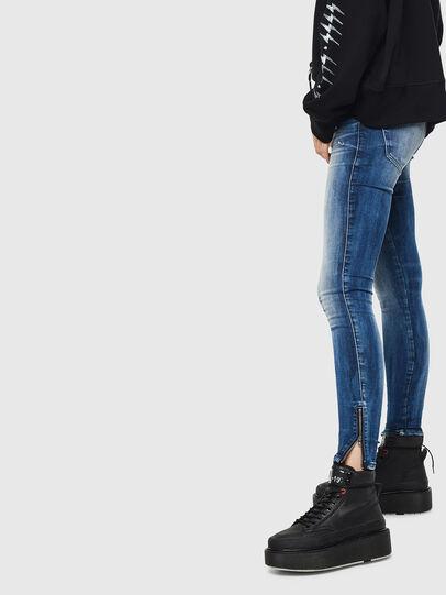 Diesel - Slandy Low 0095C, Mittelblau - Jeans - Image 2