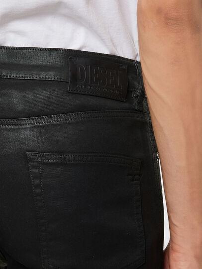 Diesel - D-Strukt JoggJeans® 069QX, Schwarz/Grün - Jeans - Image 4
