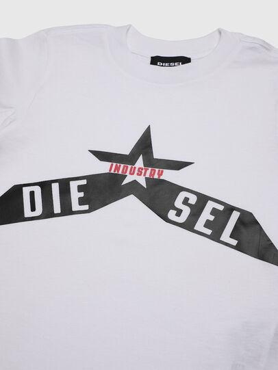 Diesel - TDIEGOA7B-R, Weiß - T-Shirts und Tops - Image 3