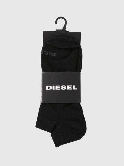 Diesel - SKM-GOST-THREEPACK, Schwarz - Kurze Socken - Image 2