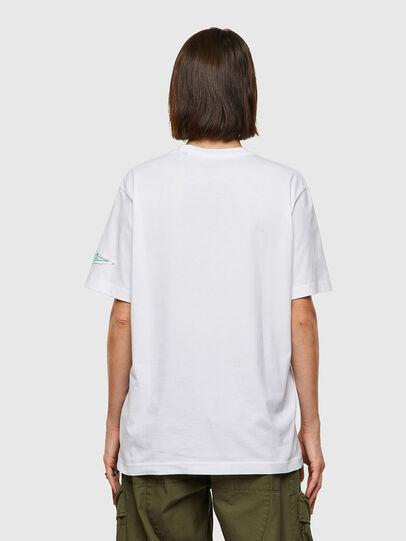 Diesel - T-JUST-B61, Weiß - T-Shirts - Image 4