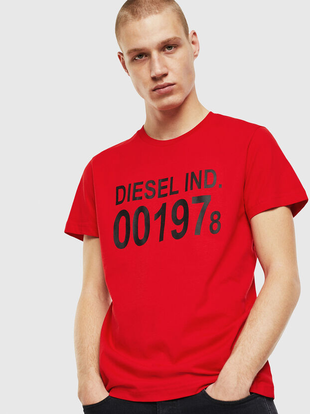 T-DIEGO-001978, Rot - T-Shirts