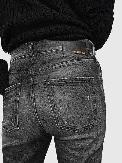 Diesel - Aryel 0095J, Schwarz/Dunkelgrau - Jeans - Image 5