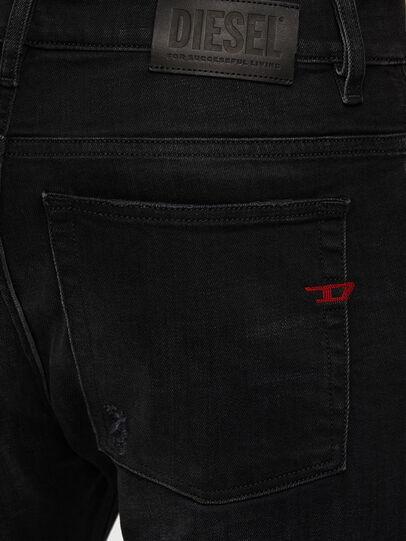 Diesel - D-Amny 0092B, Schwarz/Dunkelgrau - Jeans - Image 4