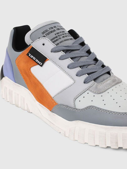 Diesel - S-RUA LOW90, Grau - Sneakers - Image 4