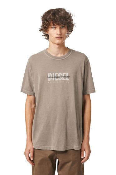 Green Label T-Shirt mit Print