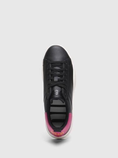 Diesel - S-CLEVER LOW LACE W, Schwarz/Rosa - Sneakers - Image 5