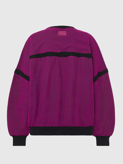 Diesel - F-TRULY, Fuchsie - Sweatshirts - Image 2