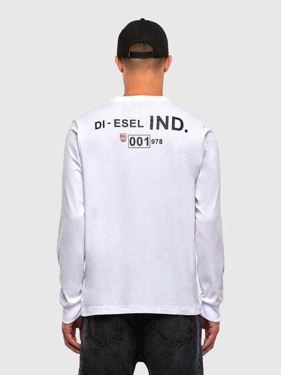 Diesel - T-JUST-LS-N62, Weiß - T-Shirts - Image 2