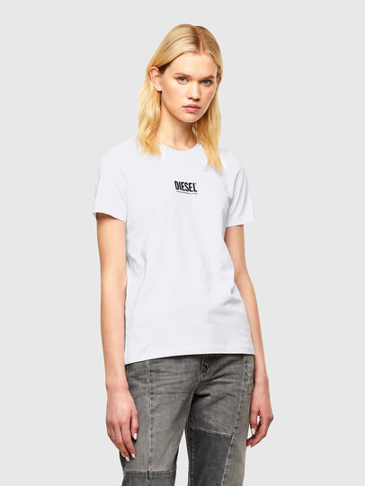 Diesel - T-SILY-SMALLOGO, Weiß - T-Shirts - Image 1
