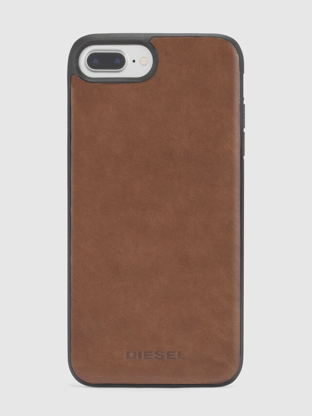 BROWN LEATHER IPHONE X CASE, Braun