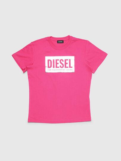 Diesel - TFOIL, Rosa - T-Shirts und Tops - Image 1