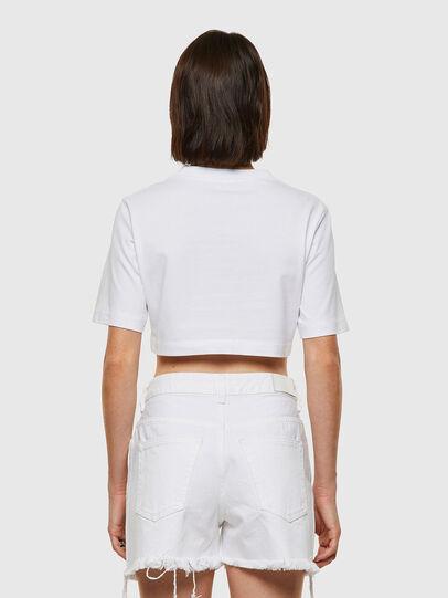 Diesel - T-RECROP, Weiß - T-Shirts - Image 2