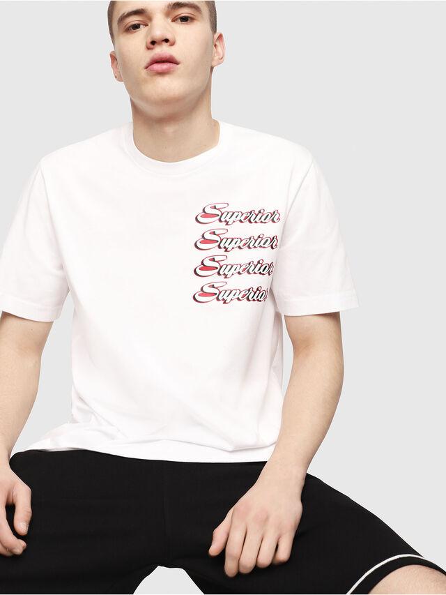 Diesel - T-JUST-Y13, Weiß - T-Shirts - Image 3