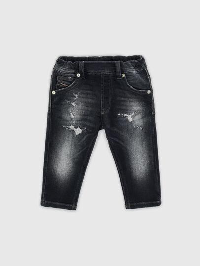 Diesel - KROOLEY-JOGGJEANS-B-N, Schwarz - Jeans - Image 1