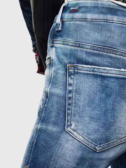 Diesel - Slandy High 0096J, Mittelblau - Jeans - Image 6