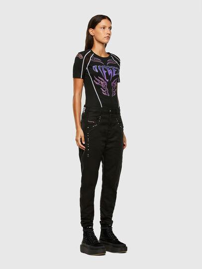 Diesel - FAYZA JoggJeans® 069NC, Schwarz/Dunkelgrau - Jeans - Image 6