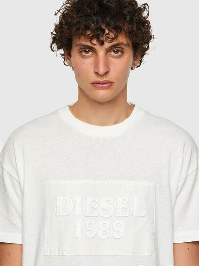 Diesel - DxD-20, Weiß - T-Shirts - Image 4