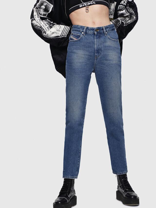 Diesel - D-Eiselle 0076X, Mittelblau - Jeans - Image 1