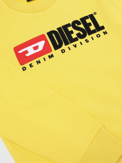 Diesel - SCREWDIVISION OVER, Gelb - Sweatshirts - Image 3