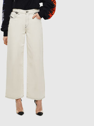 Widee 009BD, Weiß - Jeans