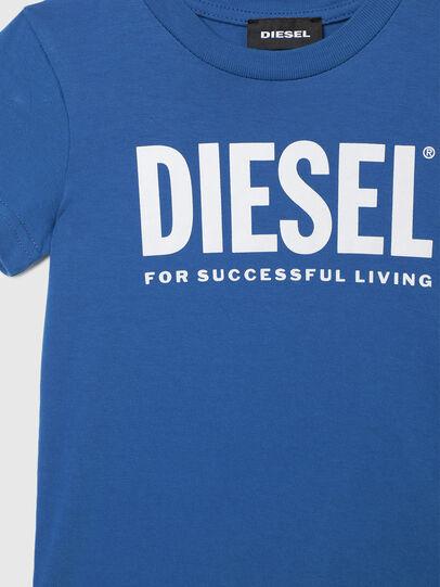 Diesel - TJUSTLOGOB-R, Blau - T-Shirts und Tops - Image 3