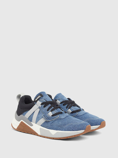 Diesel - S-BRENTHA WL, Jeansblau - Sneakers - Image 2
