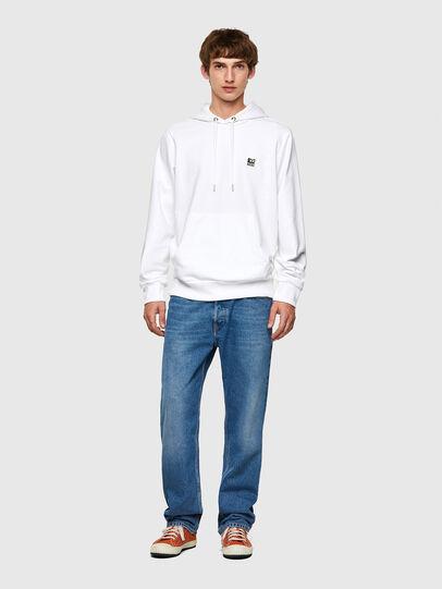 Diesel - S-GIRK-HOOD-K21, Weiß - Sweatshirts - Image 4